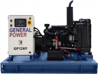 Дизельный генератор General Power GP12KF с авр